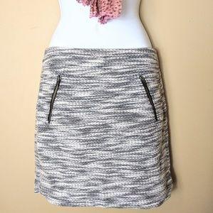 ANN TAYLOR LOFT sz 00 knitted pencil mini skirt